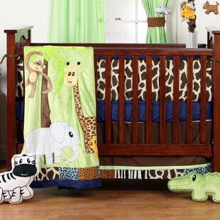 Reviews Fernwood 4 Piece Crib Bedding Set ByZoomie Kids