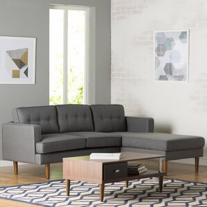 Monterey Sectional : gray modern sectional - Sectionals, Sofas & Couches