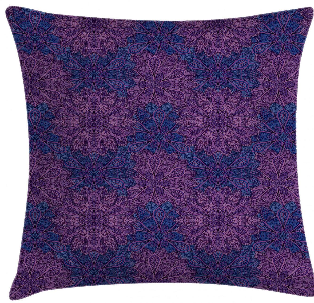 East Urban Home Indoor Outdoor Damask 26 Throw Pillow Cover Wayfair