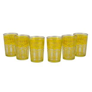Tea Time Bahia 8 oz. Tea Glass Set (Set of 6)