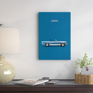 'Ford Mustang Shelby GT500-KR' Graphic Art Print on Canvas ByEast Urban Home