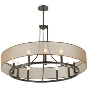 Charlton Home Chris 9 Light Candle-Style Chandelier