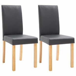 Maaza Upholstered Dining Chair Set of 2 by Ebern Designs