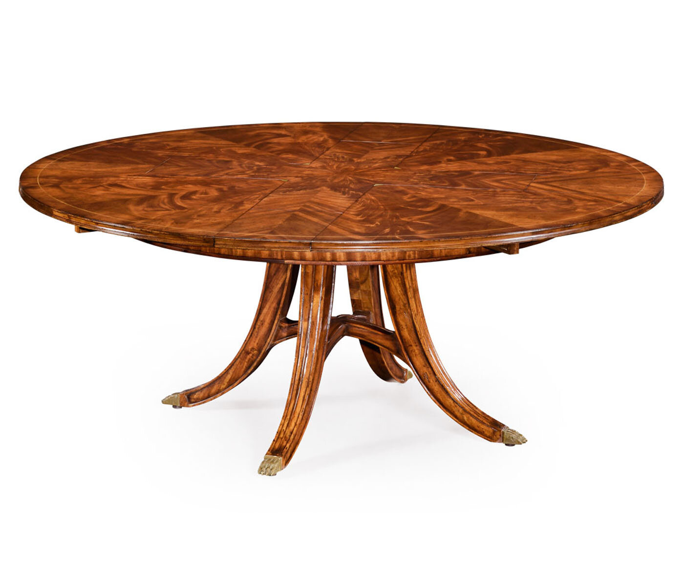 Jonathan Charles Fine Furniture Windsor Extendable Solid Wood Dining Table Perigold