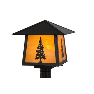 Meyda Tiffany Stillwater Tall Pine 1-Light Lantern Head