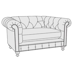 London Chesterfield Chair by Bernhardt