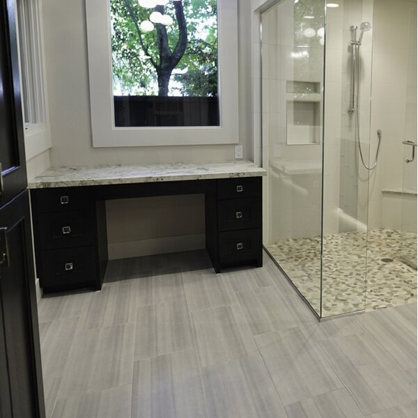 Emser Tile Perspective X Porcelain Cove Tile In White Wayfair - 6 x 12 porcelain floor tile