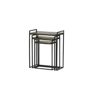 Tipton & Tate Levsko 3 Piece Nesting Tables