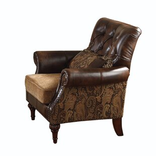Fleur De Lis Living Tinsley Armchair