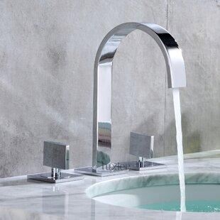Savings Widespread Bathroom Faucet ByLuxier