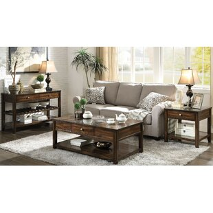 Arnoldo 3 Piece Coffee Table Set