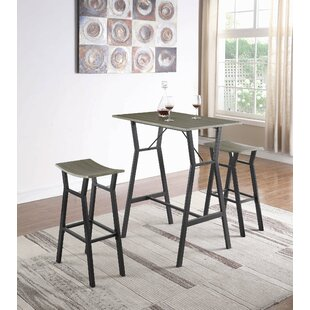 Carrico 3 Piece Pub Table Set ..
