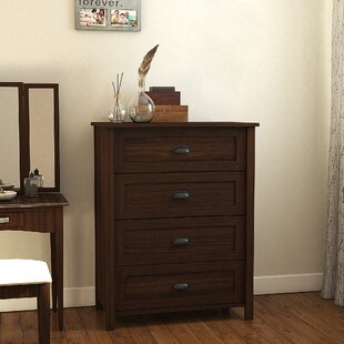 Holbrook 4 Drawer Chest Andover Mills