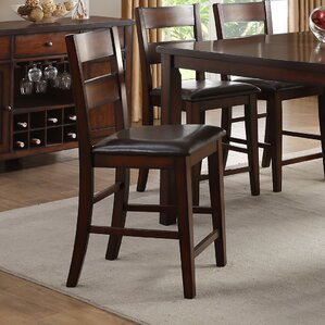 Dickens Upholstered Dining Chair (Set of 2) by Alcott Hill