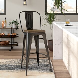 Ashlyn Industrial 30 Bar Stool Williston Forge