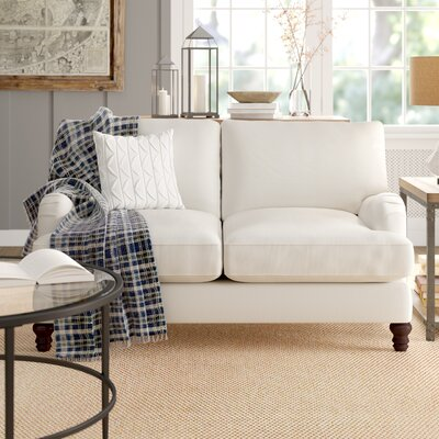 Superb Montgomery Upholstered Loveseat Birch Lane Heritage Creativecarmelina Interior Chair Design Creativecarmelinacom