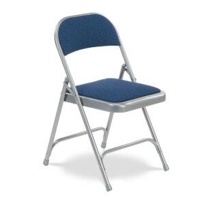 188 series fabric padded folding chair set of 4