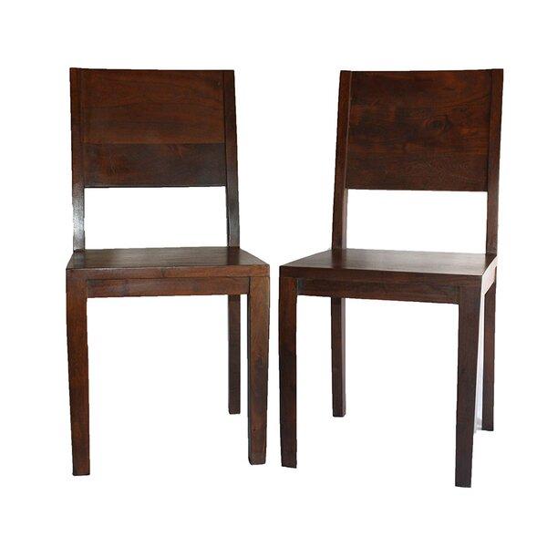 Acacia Wood Chair | Wayfair