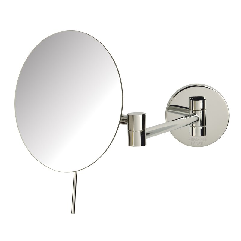 Symple Stuff 5x Magnification Wall Mirror