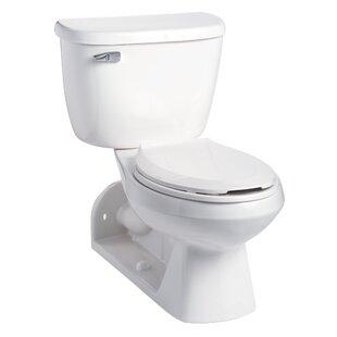 Quantum Pressure-Assist 1.6 GPF Elongated Two-Piece Toilet