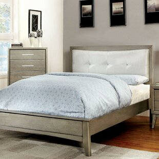Grigor Upholstered Platform Bed by Wrought Studio Sale