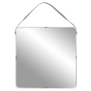 Orren Ellis Weslaco Metal Wall Mounted Mirror