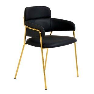 Ephraim Upholstered Dining Chair (Set Of 2) by Mercer41 New