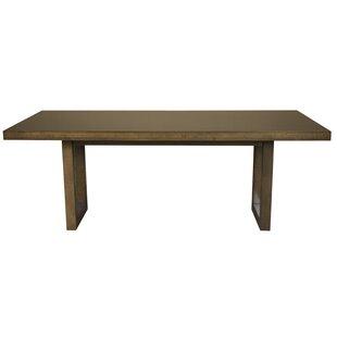 Fusco Maple Straight Edge Solid Wood Dini..