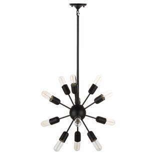Brayden Studio Manzella 12-Light Sputnik Chandelier