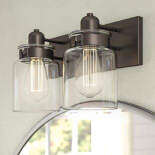 Laurel Foundry Modern Farmhouse Vasilia 2-Light Vanity Light