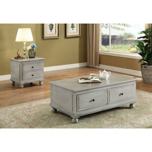 Zoana 2 Piece Coffee Table Set Andrew Home Studio