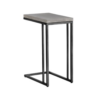 Compare Solterra C-Shaped End Table By Sunpan Modern
