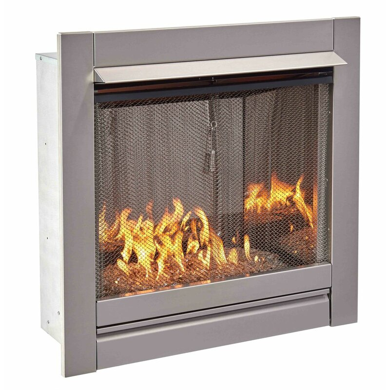 Wrought Studio Trafalgar Vent Free Stainless Steel Natural Gas