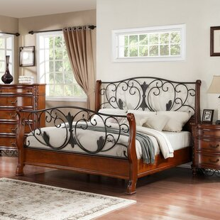 Fairfax Home Collections Tuscany Sleigh Bed