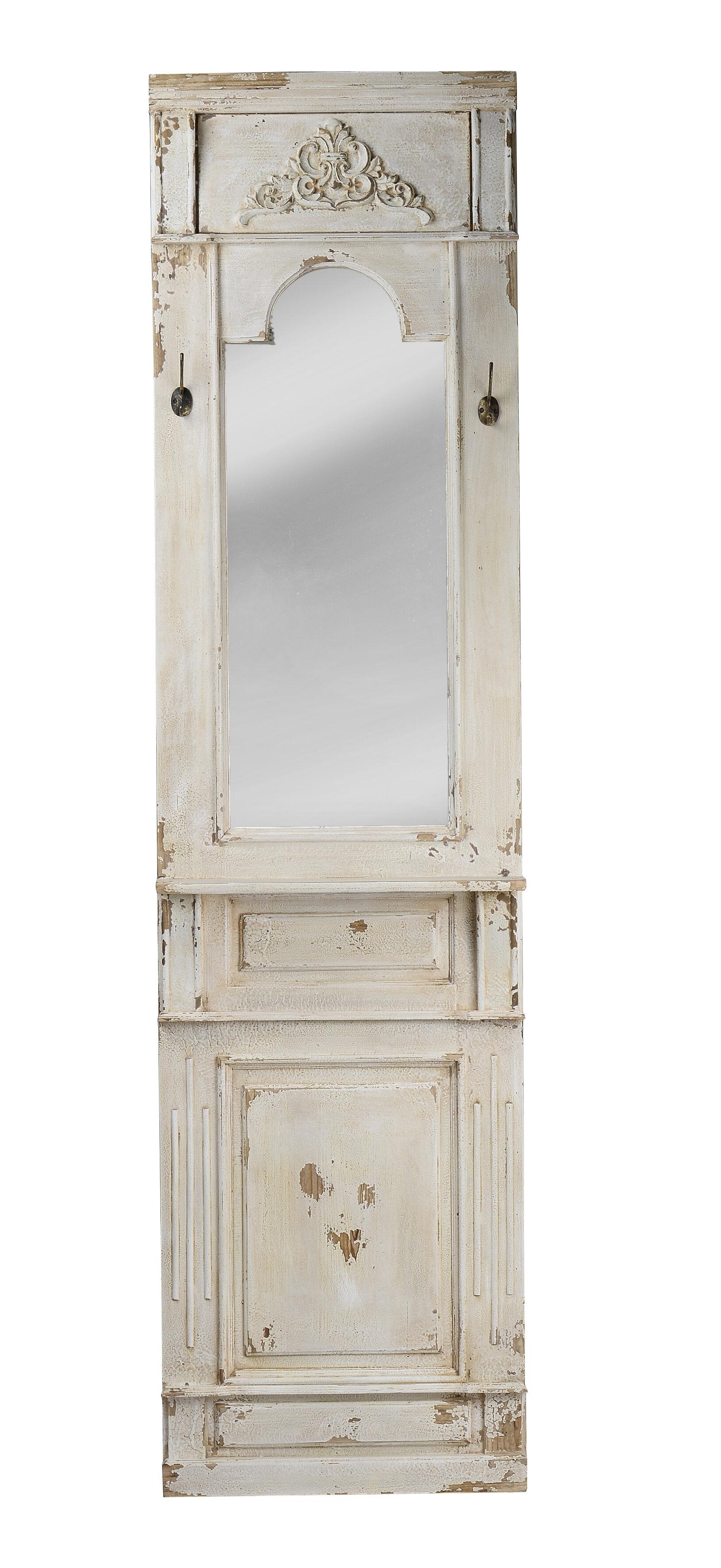 Gracie Oaks Lasseter Classic Vintage Wall Full Length Mirror Wayfair