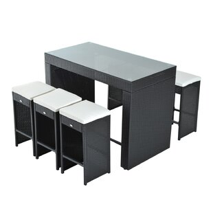 Kemmer 7 Piece Bar Height Dining Set