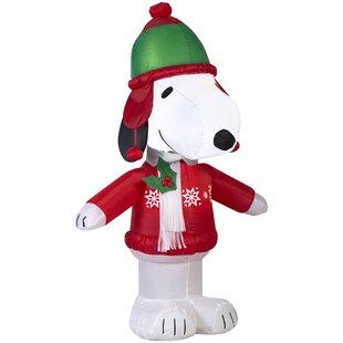 Snoopy Christmas Inflatables | Wayfair