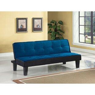 Emmanuelle Sturdy Flannel Fabric Adjustable Convertible Sofa