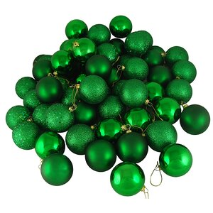 96 Piece Shatterproof Christmas Ball Ornament Set