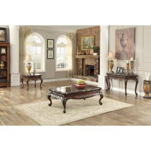 Brooklandville 3 Piece Coffee Table Set Astoria Grand