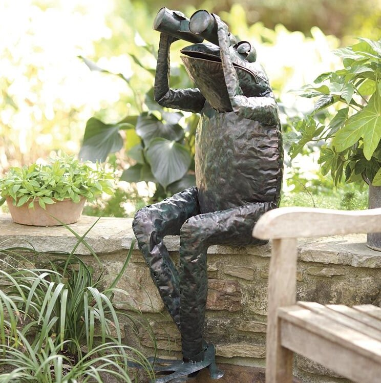 Extra Large Over 3 Ft Frog Statues Sculptures You Ll Love In 2021 Wayfair