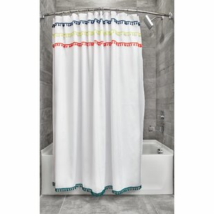 Wingert Tassel Single Shower Curtain