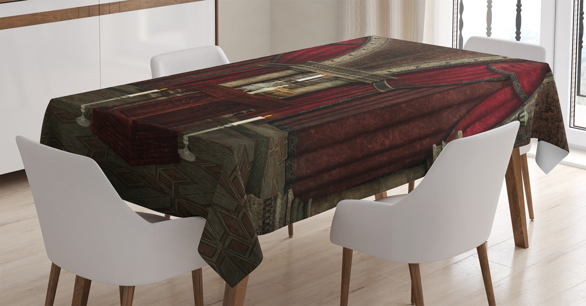 Gothic Dining Room Kitchen Tablecloth