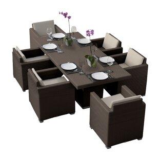 Westcott 7 Piece Dining Set with Cushions by Brayden Studio