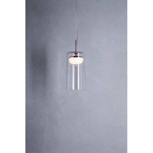 1 - Light Cylinder LED Pendant Prandina srl Size: 240cm H x