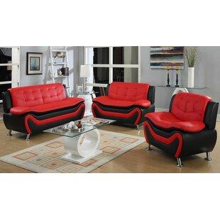 Sunray 3 Piece Living Room Set