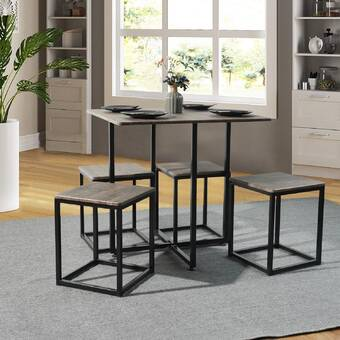 United Furniture Import Export Mccaslin 5 Piece Dining Set Reviews Wayfair