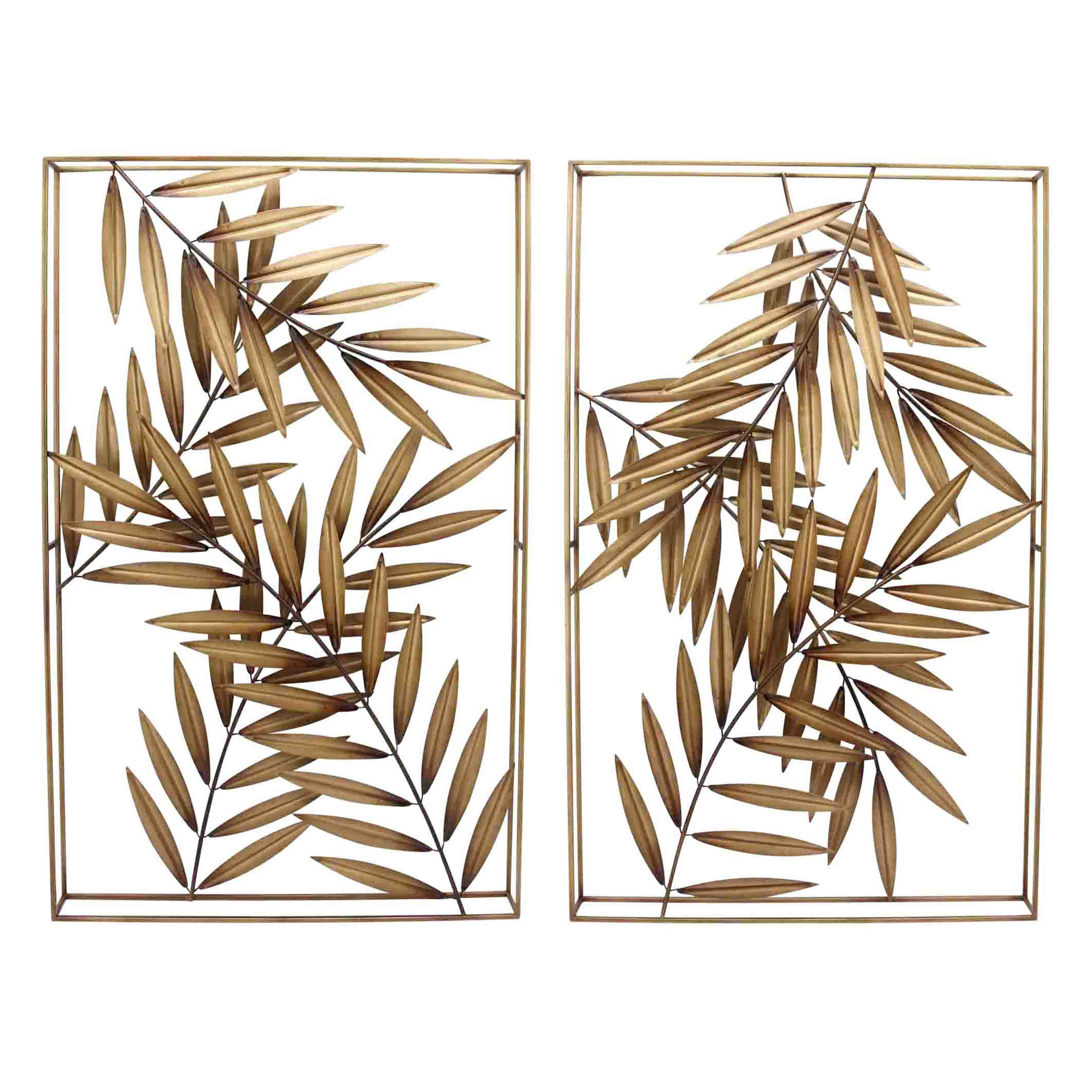 decor wall cor sculptured metal interior d leaf leaves pin pinterest design