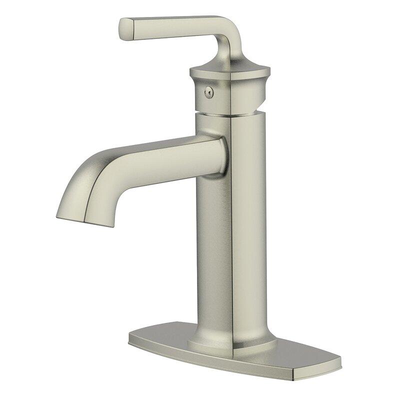 Windon Bay Chesapeake Single Hole Bathroom Faucet With Drain Assembly Wayfair