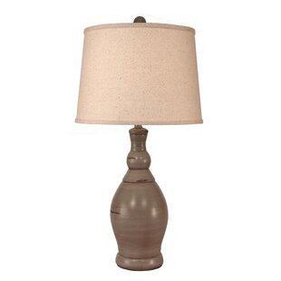 Iliomar Slender Neck Casual Pot 30 Table Lamp
